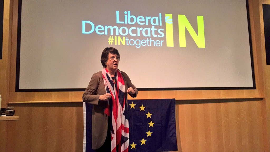 The EU is vital to Manchester, creating jobs, funding & much more. @catherinemep launches Mcr #INtogether campaign https://t.co/wm8rZvbs4y