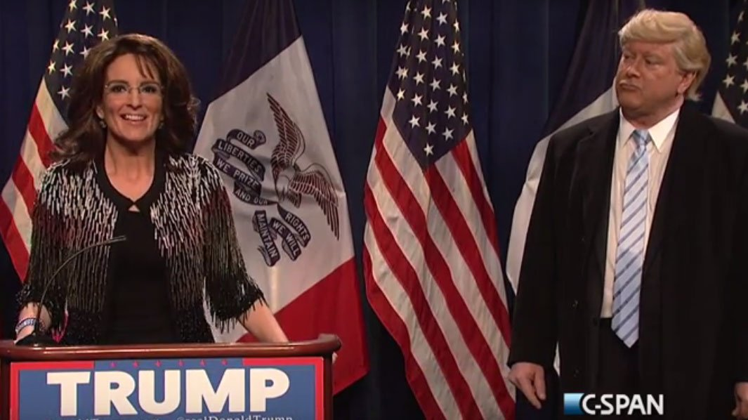 SNL: Tina Fey returns as Sarah Palin; Larry David to host
