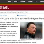 Breaking: Louis Van Gaal SACKED!! https://t.co/HpSUDCc8FA