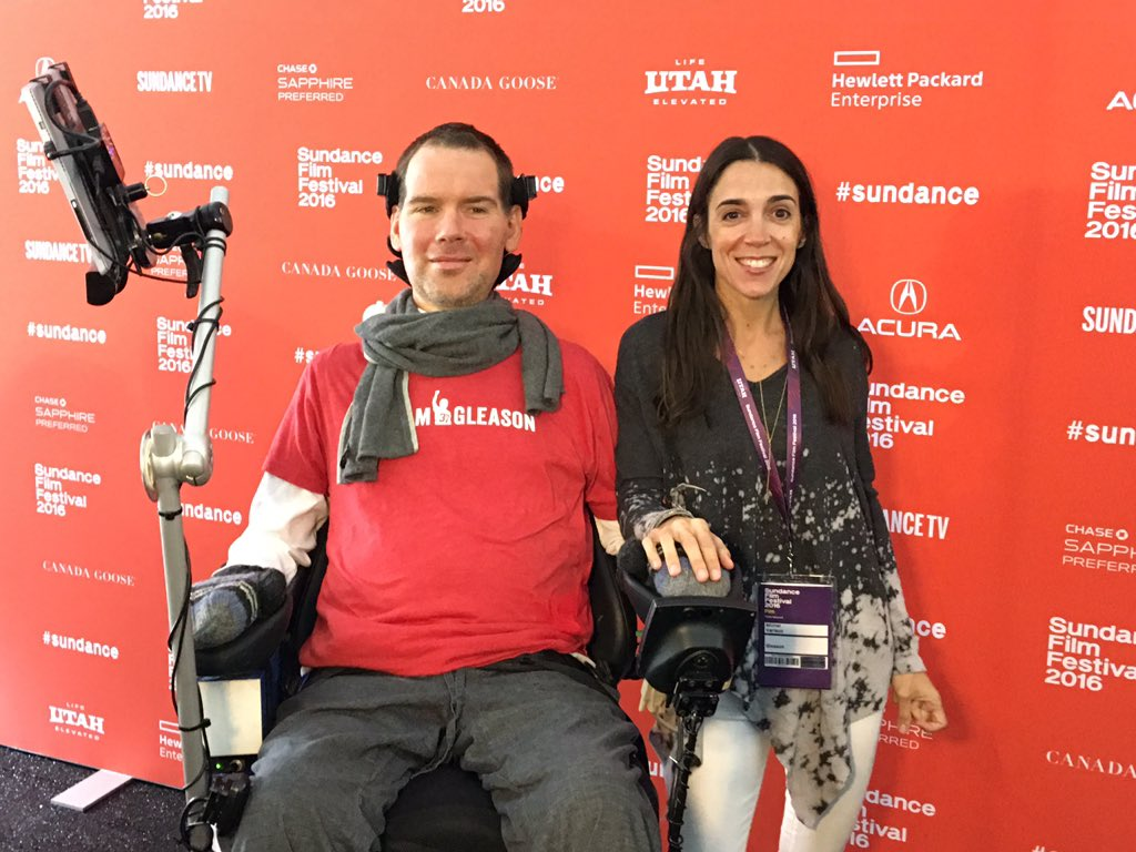 'GLEASON' is taking @sundancefest by storm. It will move you, crush you, inspire you and teach you. @TeamGleason https://t.co/4IFcXw93cx
