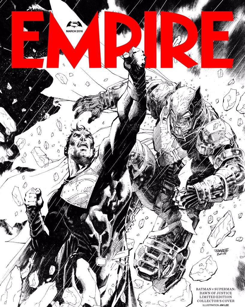 #BatmanvSuperman subscriber cvr I did4 @EmpireMagazine is onway to subscribers now! #WhoWillWin #Batman #Superman https://t.co/0Dc0FlNJ93