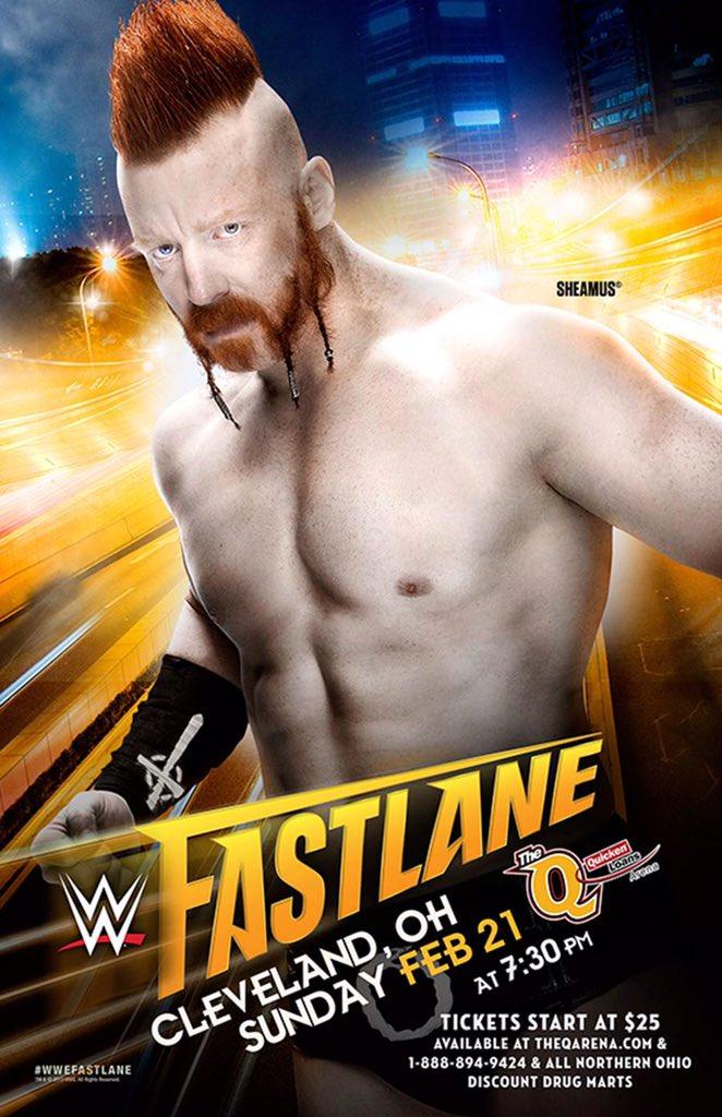 Официальный постер Fastlane 2016