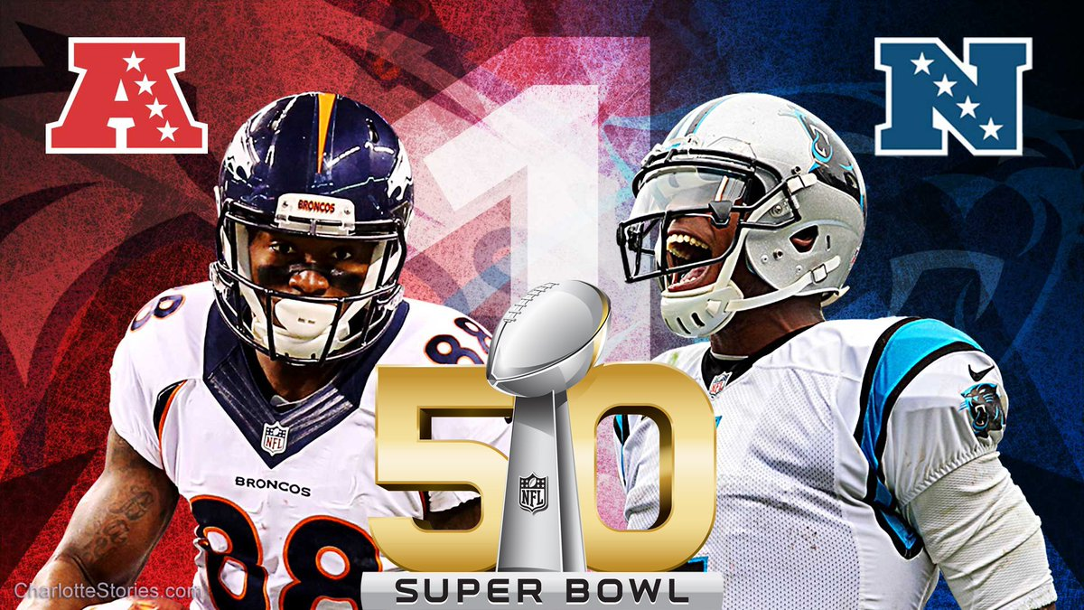 The Panthers are going to the Superbowl! #PanthersvsBroncos #SB50 https://t.co/b5c2I9QbEa
