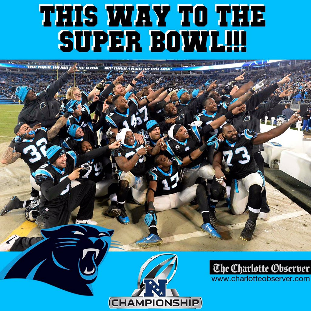 #SuperBowlBound #KeepPounding https://t.co/fFxxR5LawL