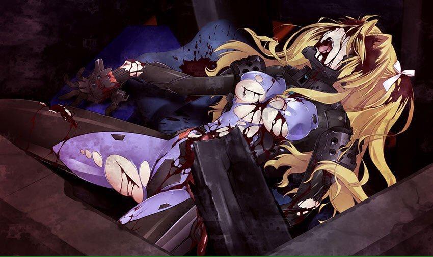 今更だけどゲーム版シュヴァケンとアニメ版シュヴァケンのイングヒルトの死にかけの姿を比較。ゲーム版の方が圧倒的に悲惨……(