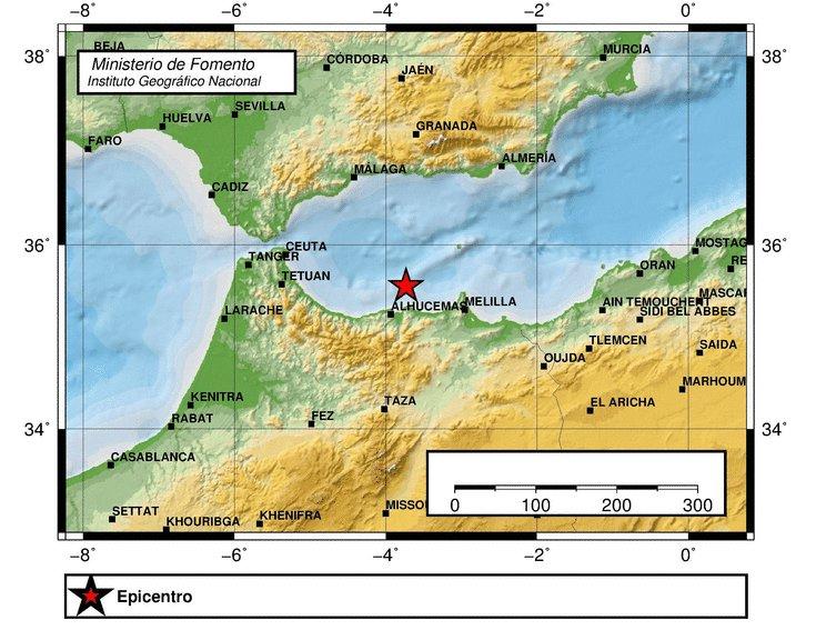 Sentido #terremoto de 5,6 grados de magnitud en #Málaga https://t.co/uqHhic4N02