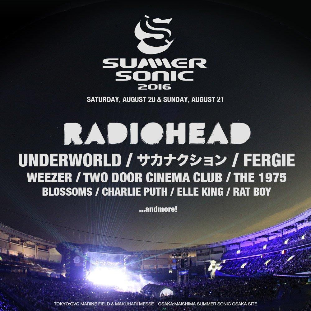 Underworld are coming to Japan to play @summer_sonic this august https://t.co/S0XeK3GuCO https://t.co/tyOFK5lMDP