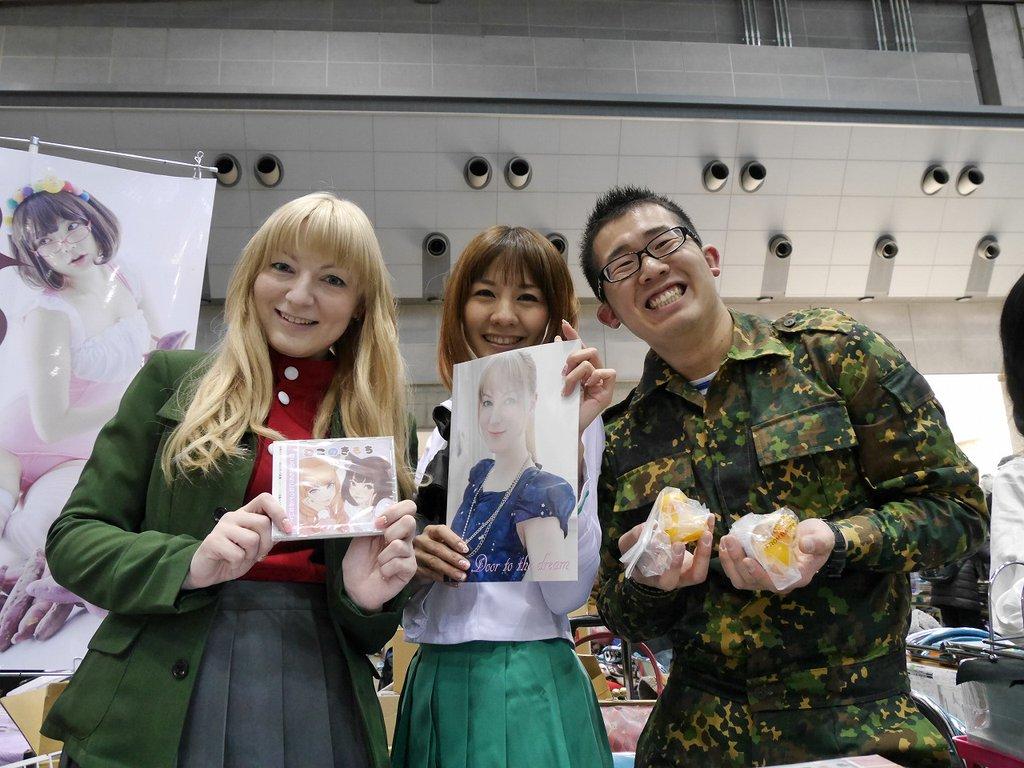 皆さん!「Youは何しに日本へ」を見てくださって、ありがとうございます!!リプライの数すごい!!いや、当日すごく疲れてたけど、すごく楽しかった!!!ありがとう!!「パパはスペツナズ」の3人!#garupan #Youは何しに日本へ https://t.co/hGD0oZP4a3