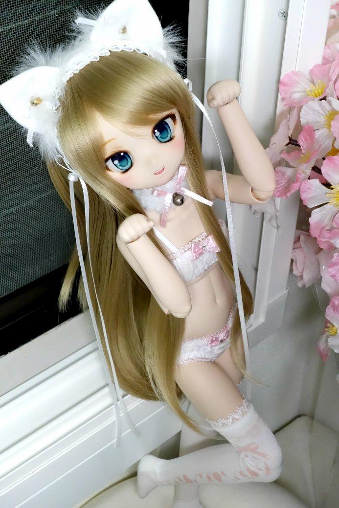 超可愛い美少女が下着姿でネコのポーズしてくれるんだ。ドールはいいぞ [無断転載禁止]©2ch.net->画像>192枚