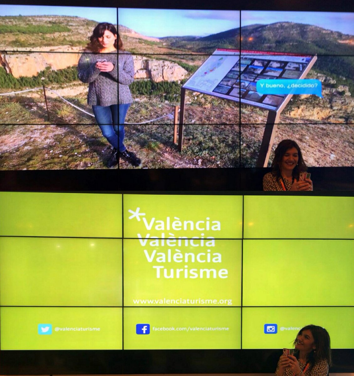 Así vimos la nueva marca-territorio de #valenciaturisme en #Fitur2016, con @lasblogenpunto y @thekreativeroom https://t.co/lvkzr7Bgao