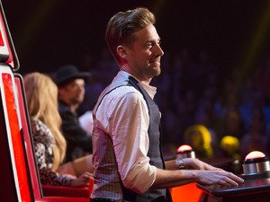 The Voice UK: Ricky Wilson had a little dispute with a fellow coach...and he wasn't happy