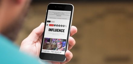 #Influence - goes live in print and online this week! Check out the new website now https://t.co/cvc0Aqr4cP https://t.co/Vp05iIwQzW
