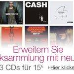 Jetzt wieder da: 3 CDs für 15 EUR im Sparpaket -Aktion vom 05.02.2016-27.03.2016! Neu auf https://t.co/rHI8AHDrlf https://t.co/LBJwCyxnN9,