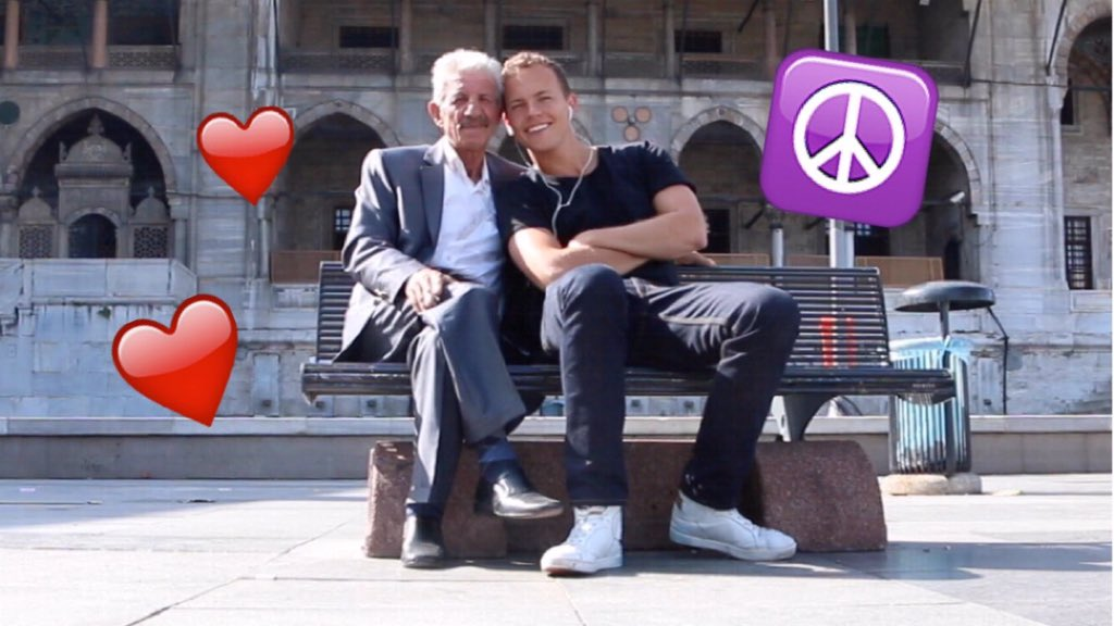 RT @jeromejarre: NEW YOUTUBE VIDEO !!!! IT'S ABOUT PEACE & THE WAY WE TREAT STRANGERS: