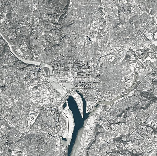 Here's what snow-covered D.C. looks like from space. https://t.co/f4dWJfPyS9 https://t.co/Kks8ge3yvm