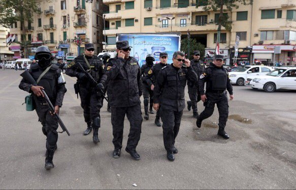 #Egypt security doctrine: citizens are cowards. Reality, cowards are those who need arms to control unarmed citizens https://t.co/fAg95fKBnO