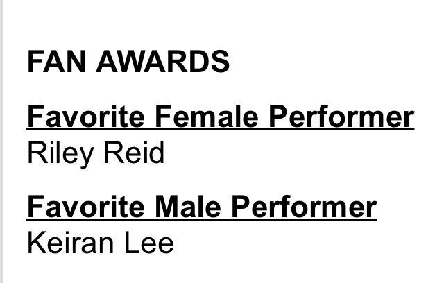 Fan votes! ? @KeiranLee @RileyReedx3 #AVNAwards2016 https://t.co/fzoGjKsgrj