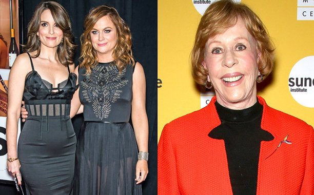 Tina Fey & Amy Poehler to present Carol Burnett with lifetime achievement award: