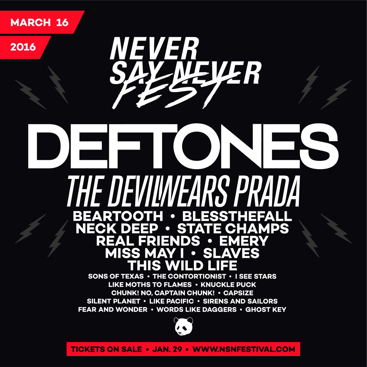 DEFTONES, Miss May I, Sons of Texas, The Contortionist, I See Stars, Capsize and more join NSN FEST! https://t.co/v3nfpQUJQV