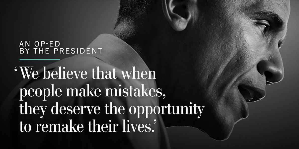 Barack Obama: Why we must rethink solitary confinement https://t.co/JoIbYB2V69 https://t.co/q3Z7T97en5