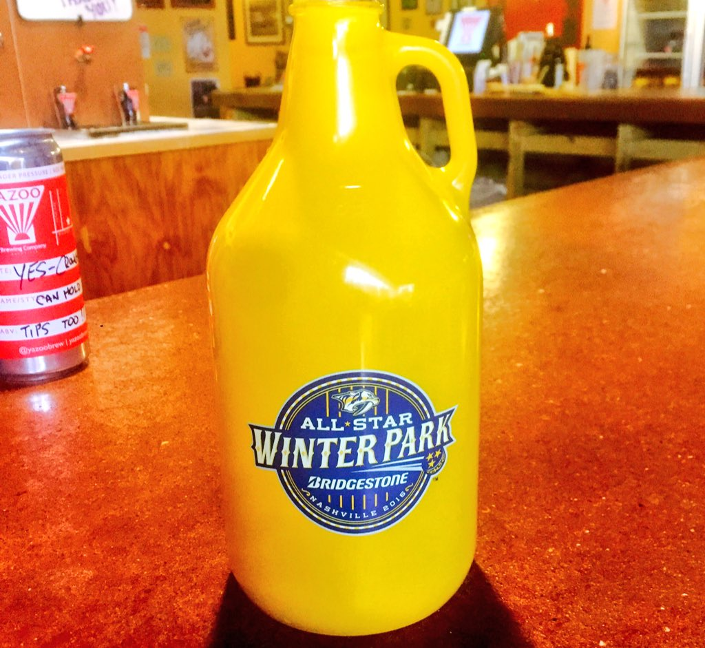 Join us this Wednesday @yazootaproom to get your hands on one of only 500 of these Winter Park Growlers. https://t.co/HvC2ITw4jc