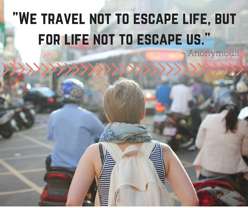 """We travel not to escape life, but for life not to escape us."" #mondaymotivation #travelquotes https://t.co/niCCaEqRy0"