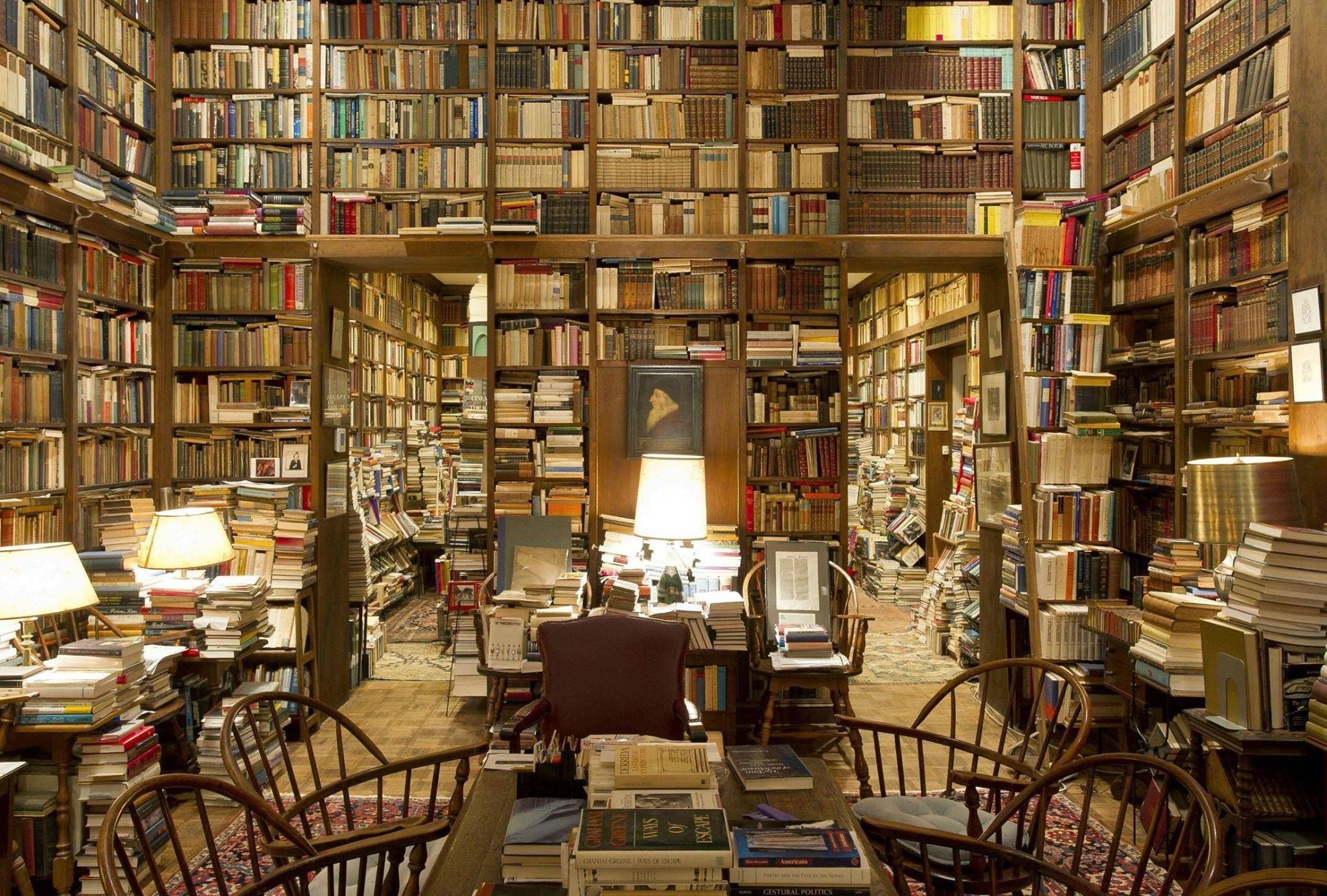 OMG I have now seen Heaven. It actually exists. Home library of humanities prof Richard Macksey [via @garethb2] https://t.co/FnCwRlo2q5