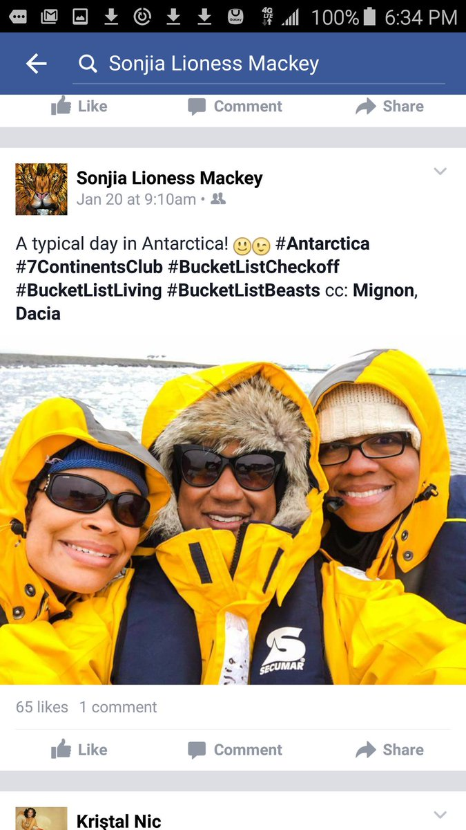 @bobatl um... my girl just got back from Antarctica. She was updating FB her whole trip. If you want to go,  go. https://t.co/QollWnIunj