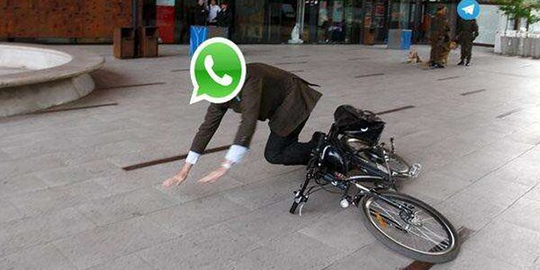 ¿Ya te diste cuenta? #Whatsapp está caído... aprovecha la oportunidad y habla con la persona de al lado. https://t.co/dvrNg0co2m