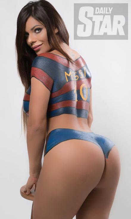 RT @DStarPics: Showing off her best assets, #MissBumBum @SuzyCortez_  https://t.co/4CGQlR2VAf https://t.co/6TRBCxuyDt