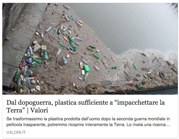 L'impatto del nostro consumo di #plastica è colossale. https://t.co/cYn2XuXWuB  via @PeriodiciValori https://t.co/IGOptGb53z