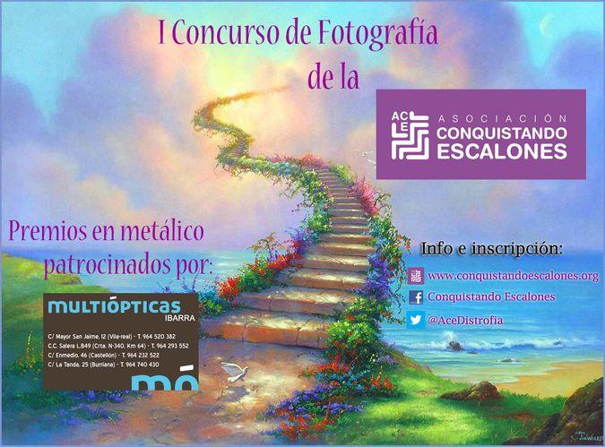 """Concurso fotografía asociación """"Conquistando escalones"""" @AceDistrofia https://t.co/UCe3Hszrso https://t.co/6OdVh65i99"""