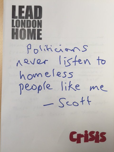 Will you listen to Scott and pledge to #LeadLondonHome ?@CarolinePidgeon @SadiqKhan @ZacGoldsmith @sianberry https://t.co/a1OIYVNIHA