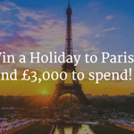 Win a Paris holiday and £3k to spend! Just click => https://t.co/QEWCPKirRF  #FreebieFriday https://t.co/pHOENkw2X3