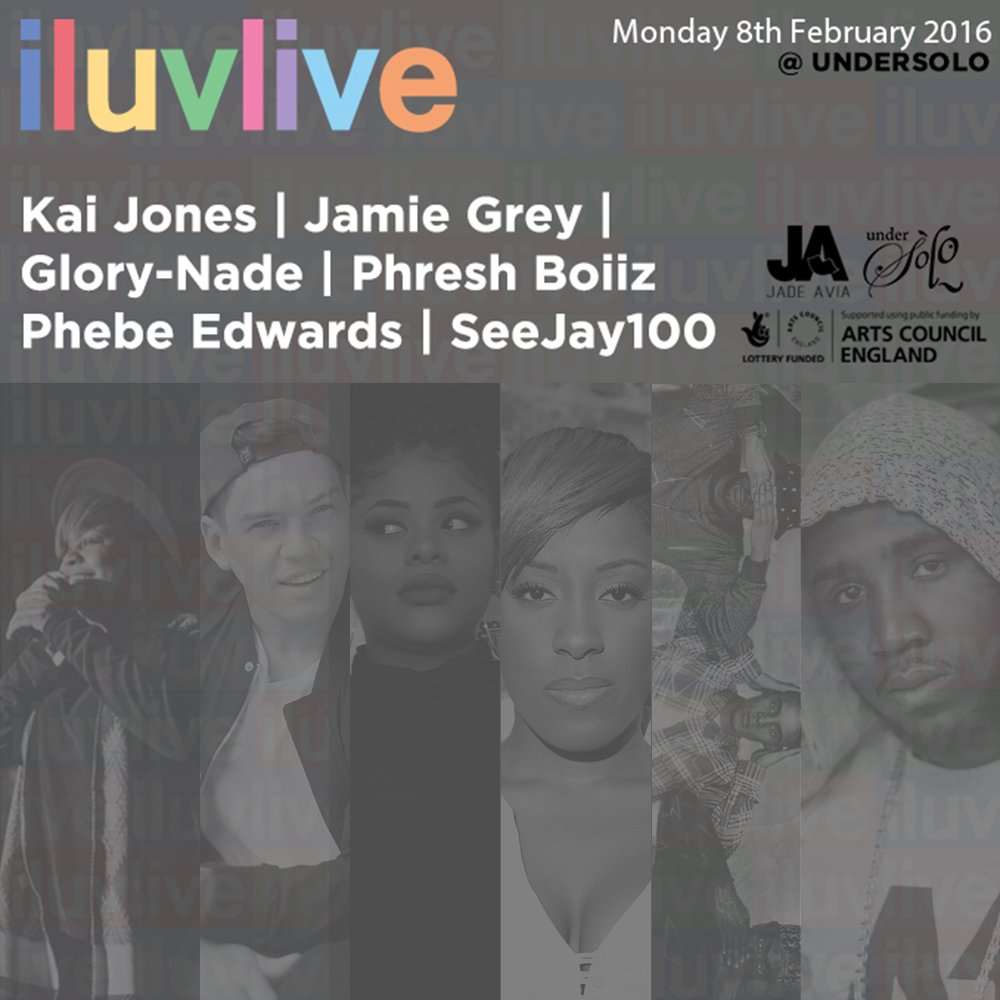 The next #iluvlive will be on the 8th Feb at @Undersolo1 Guest list now open! https://t.co/FfqIdtnGku https://t.co/t5Qg6E8ESk