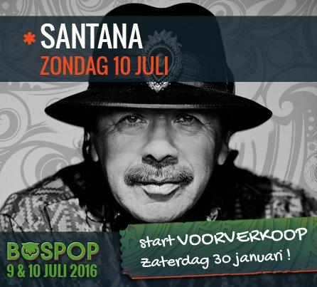 Santana keert deze zomer terug naar Bospop in Weert! https://t.co/7cBrUqpcMt