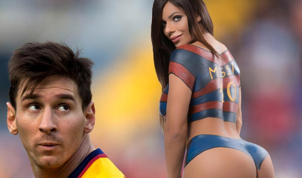 RT @TheSunFootball: It's the naked truth... Miss BumBum is Lionel Messi's biggest fan https://t.co/PrRNXxeoz8 https://t.co/woXiJyJJLC
