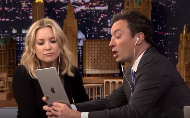 See Jimmy Fallon teach Kate Hudson the hilarious art of Dubsmash: FallonTonight 👏