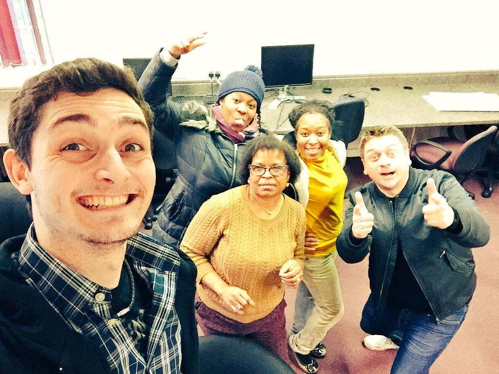 #Leyton with @popUPbusiness @HenryMNicholson @MzMusiqWhit @btcycle1 great day #progress https://t.co/r8lBw0Rn2J