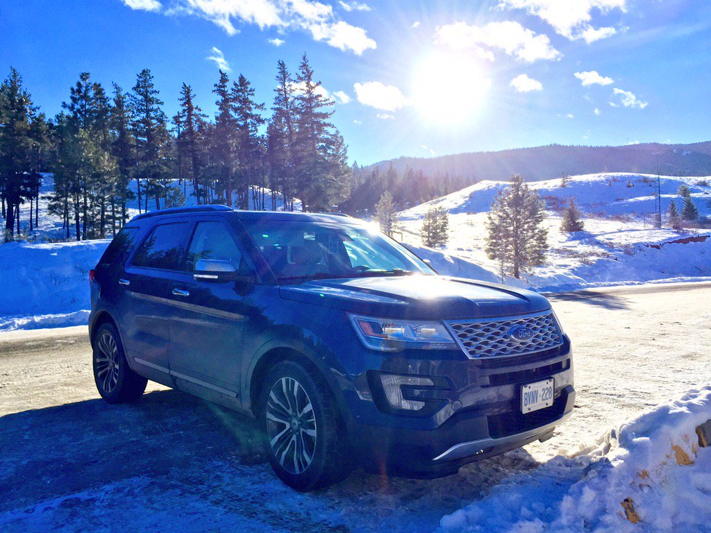 I felt safe, secure in lux #FordExplorer #Platinum on winter mountain roads: https://t.co/pvE1R7ASo6 @FordCanada https://t.co/xAhFd3fICp