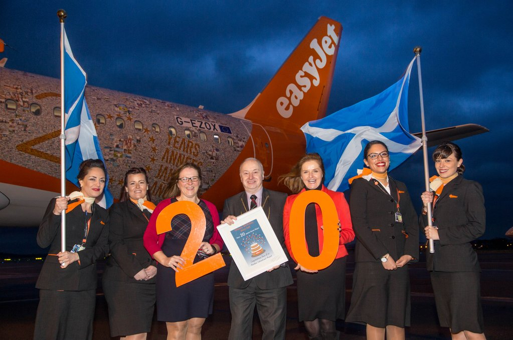 Today marks 20 years since the first easyJet flight from Aberdeen! Read the full story: