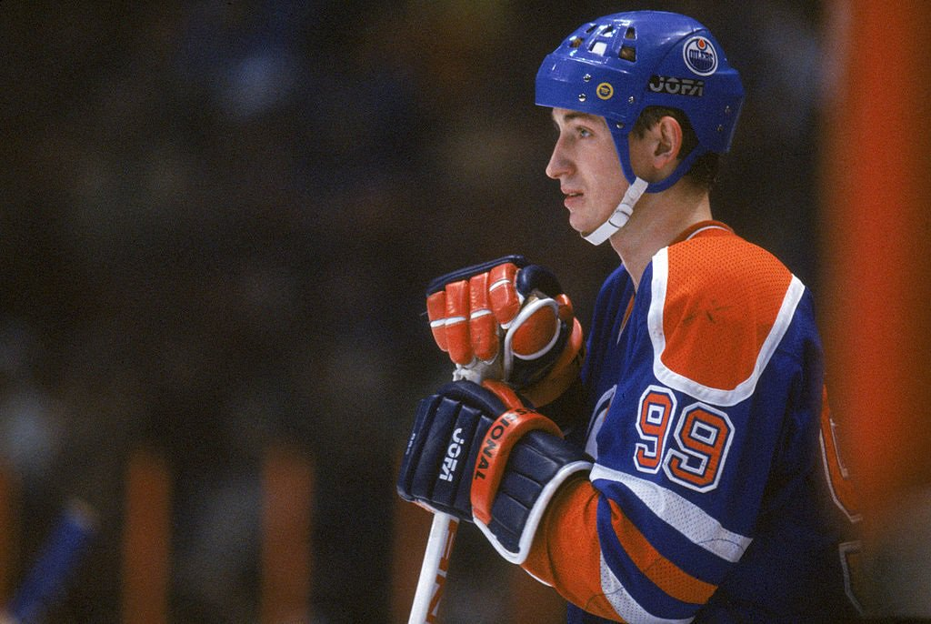 a comparison of wayne gretzky the most brilliant and talented hockey player in this century two biog