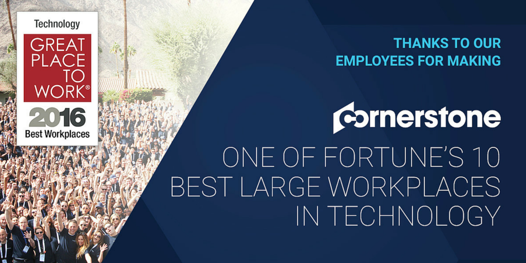 Honored to make the Best Large Workplaces in #Tech list by @FortuneMagazine: https://t.co/beGokFfX2c https://t.co/QaCJbUHy5h