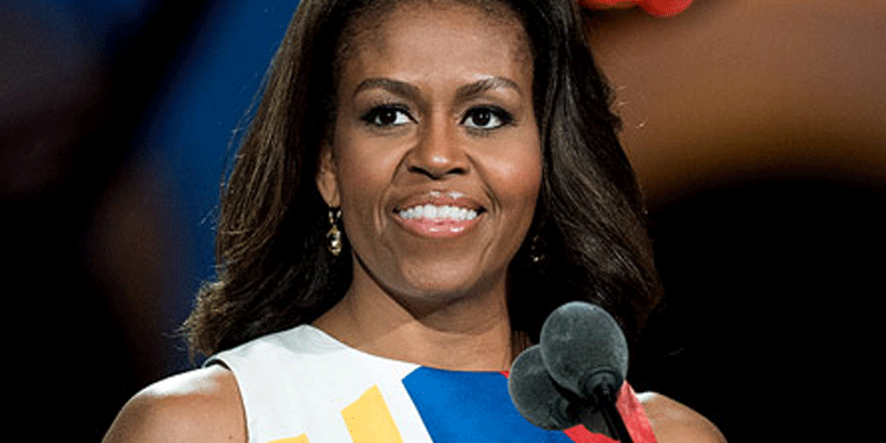 Michelle Obama dishes on her husband's high school years—and says 'he was a bum'