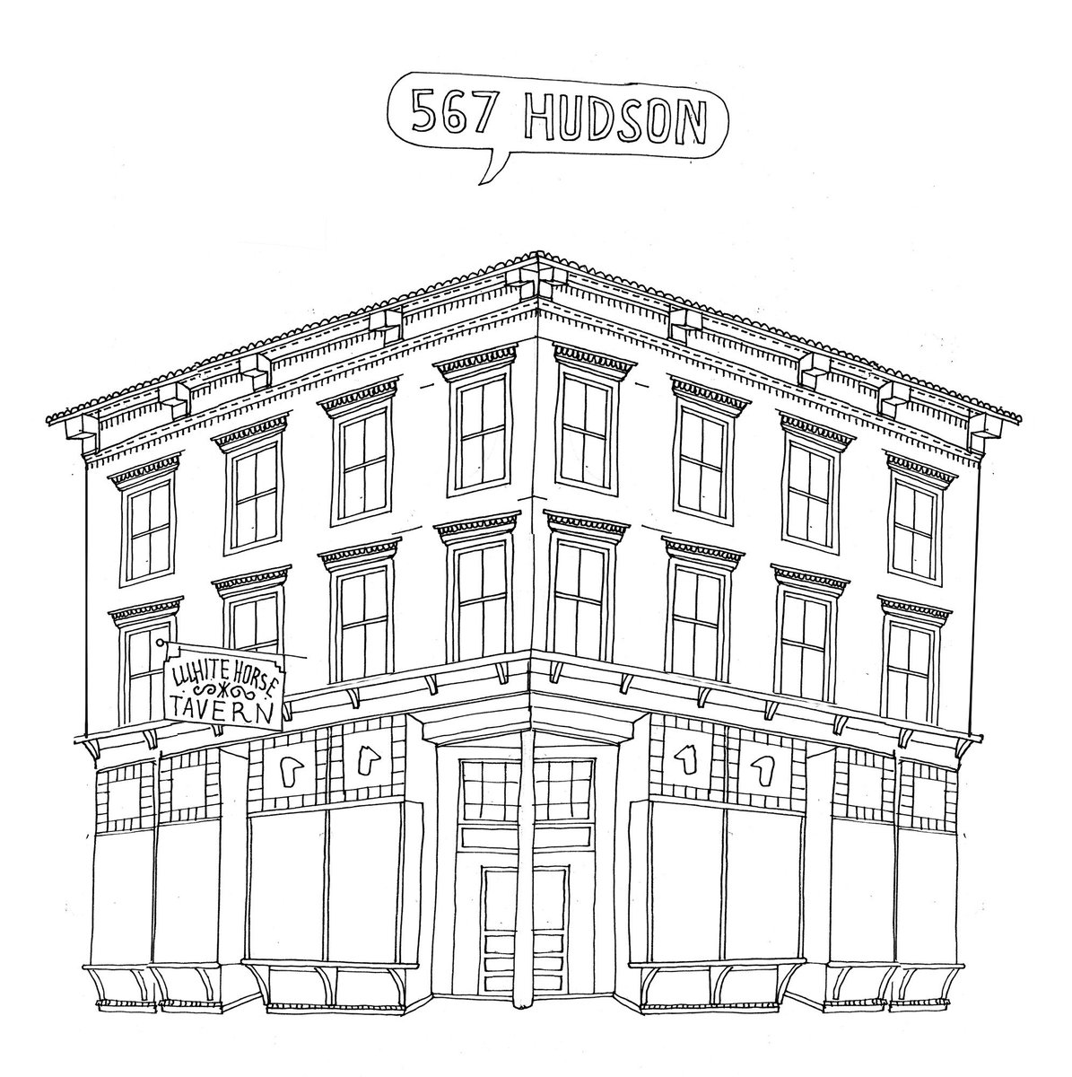 Un proyecto para dibujar todos los edificios de nueva york ...