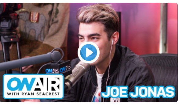 Apparently errrrybody is stoked about @JoeJonas & #DNCE being on the show?! Listen to @OnAirWithRyan on @iHeartRadio https://t.co/Q0mSIevl5I