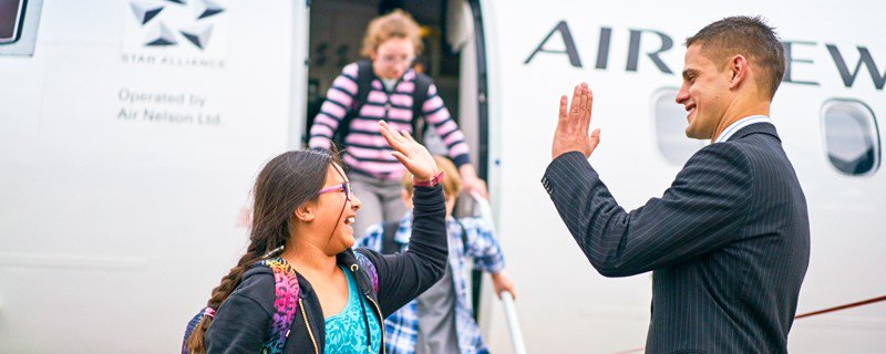 "Help ""your"" school take off with our new AirpointsforSchools program. ✈"