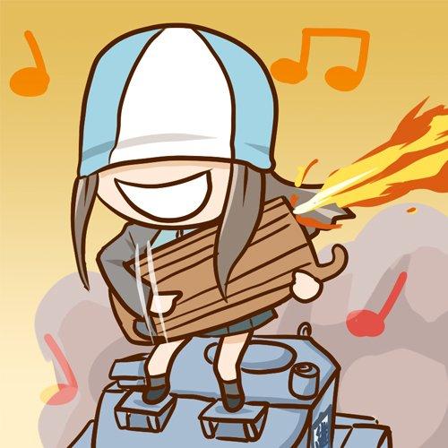継続高校のミカが戦意高揚のためにカンテレをかき鳴らしながら戦場を爆走するシーンは、劇場版の見どころの一つだと思う https://t.co/ChxOp14wnD