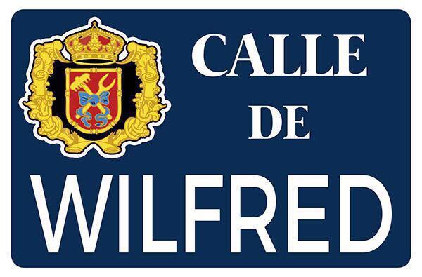 En homenaje al WILFRED se ha solicitado a la Junta Municipal la instalación de una calle con su nombre en Vallekas. https://t.co/QV3wvVYzQo