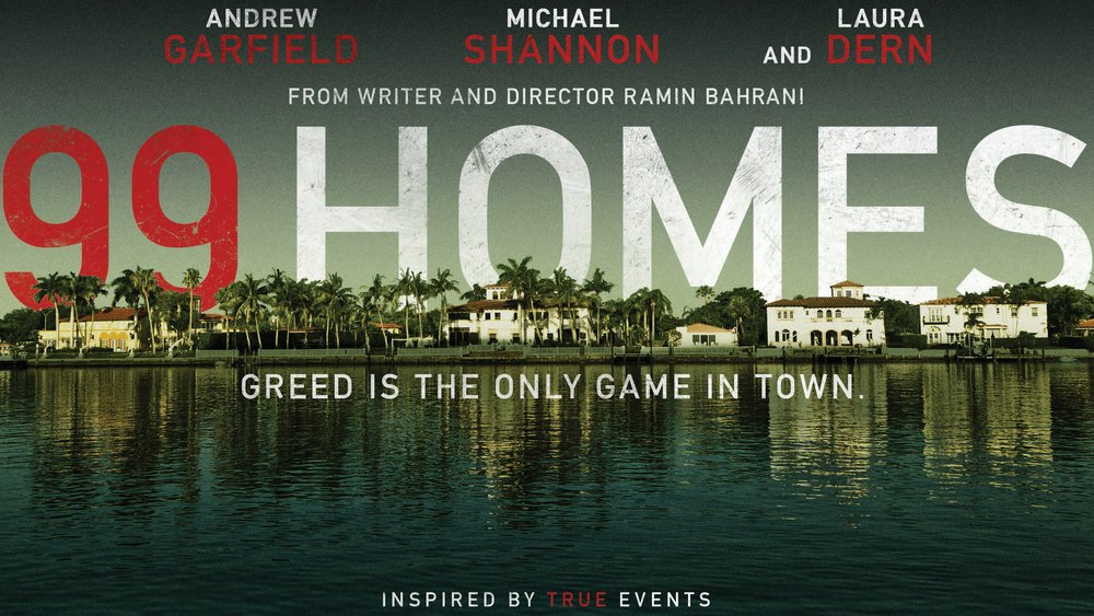 Ashamed that I hadn't seen 99 Homes until last night. Watch it now. A searing companion piece to The Big Short: https://t.co/x5LmiJEayy